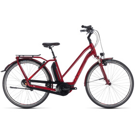 Cube Town Hybrid Pro 400 Trapez Darkred'n'Red